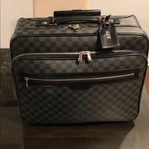 Genuine Louis Vuitton Rolling Overnight Bag